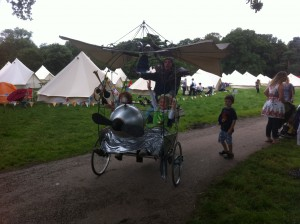 The Crazy Flying Bike!