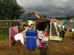 Glamping an Vango Tent